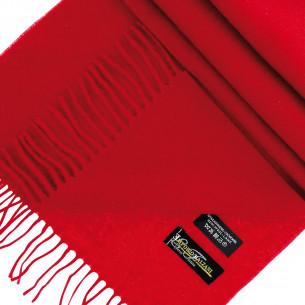 EcharpeLAINE & CACHEMIRE Emporio balzani WOOLCASH-RED