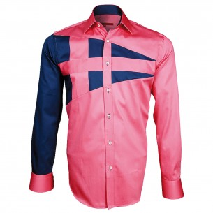 Chemise bicolore NAUTICA Andrew Mc Allister A3AM2