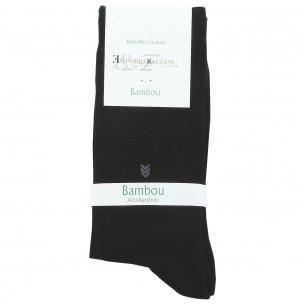 Chaussettes BAMBOU Emporio balzani ECO-BIO-BLK