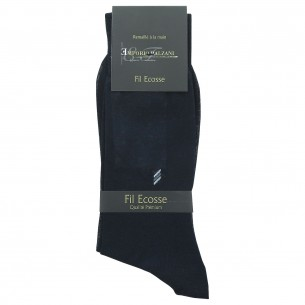 Chaussettes FIL D'ECOSSE Emporio balzani FIL-NAVY