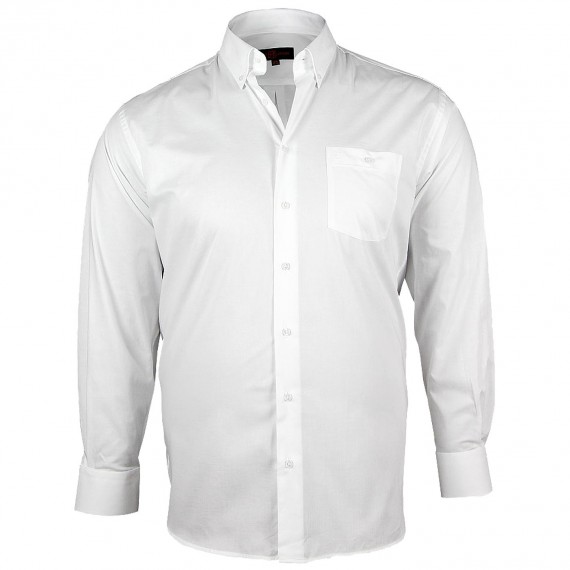 CHEMISE GRANDE TAILLE OXFORD Doublissimo GT-K5DB2