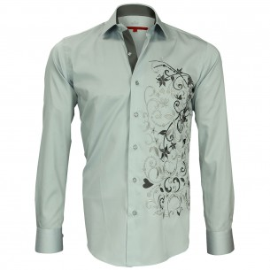 Chemise brodée FLOWERTY Andrew Mc Allister N2AM3