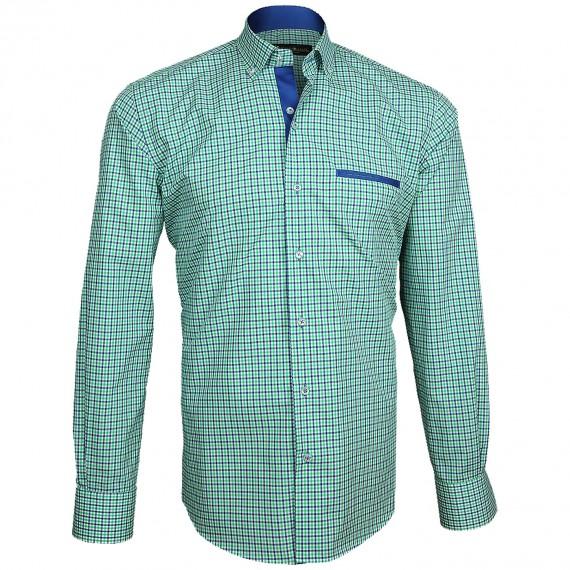 Camisa con coderas DONATELLO Emporio balzani A3EB1