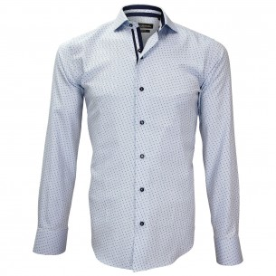 Camisa popelina tejida