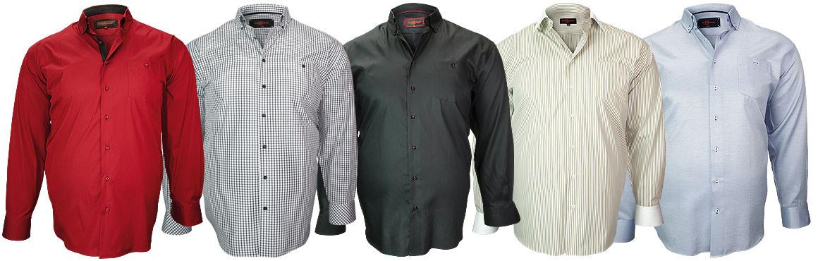 Nueva coleccion de camisas tallas grandes